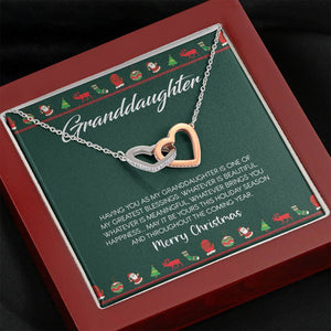 Christmas Gift for Granddaughter Necklace