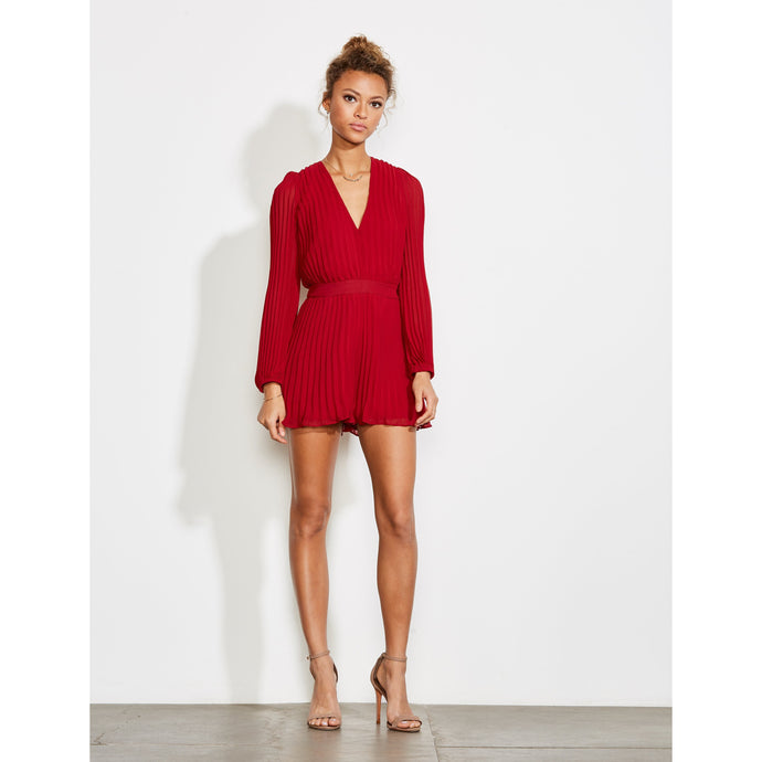 Alpha - Pleated Romper