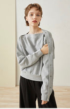 Load image into Gallery viewer, Levi - Button Down Sleeve Sweatshirt