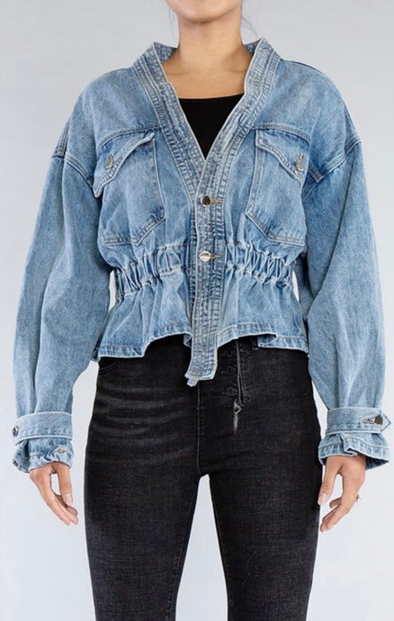 Axel - Oversized Denim Jacket