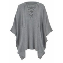 Load image into Gallery viewer, Asher - Lace Up Poncho