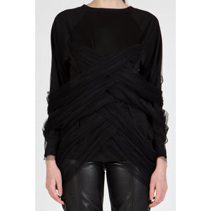 Abstract - Tulle Sweater