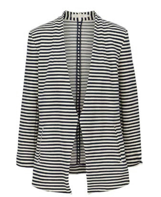 Lyric- Striped Blazer