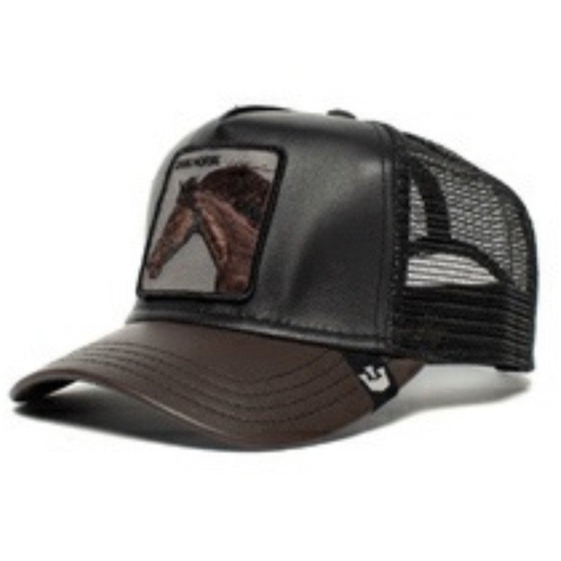 League - Leather Blend Baseball Cap
