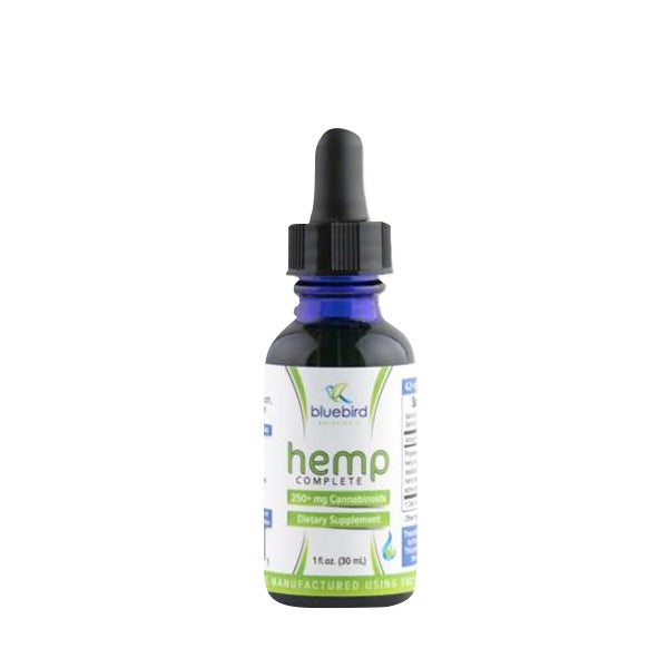 Bluebird Botanicals Hemp Complete - 250MG- 1oz