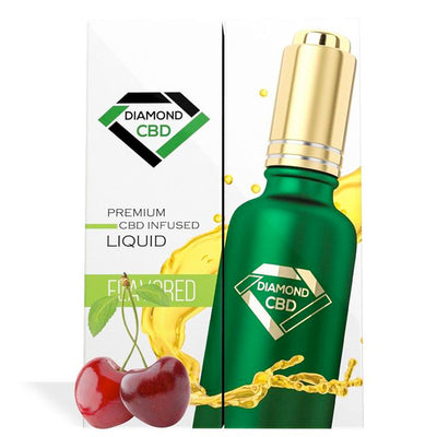Cherry Flavor Diamond CBD Oil 350MG