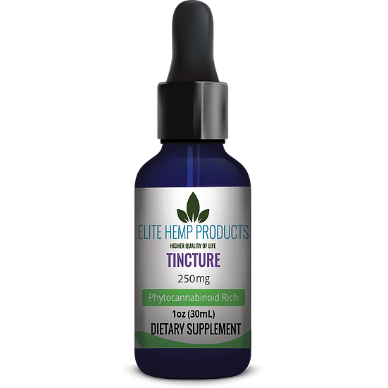 Elite CBD Tincture – 250 mg – 30ml