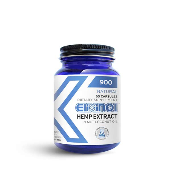 Elixinol CBD Hemp Oil Capsules 900 MG of CBD