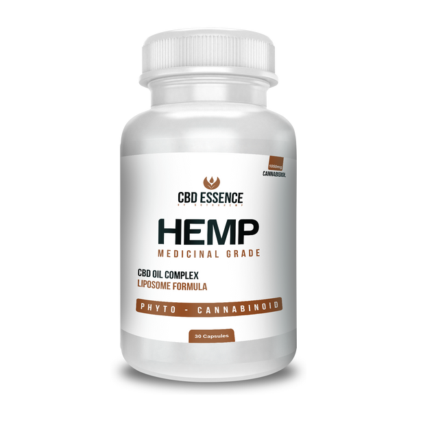 30 CBD Medicinal Hemp Oil Liposome Capsules – 1,050mg