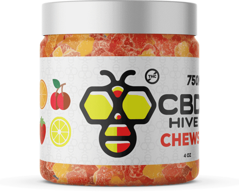 CBD Hive - Natural CBD - Organic Chews - 500mg