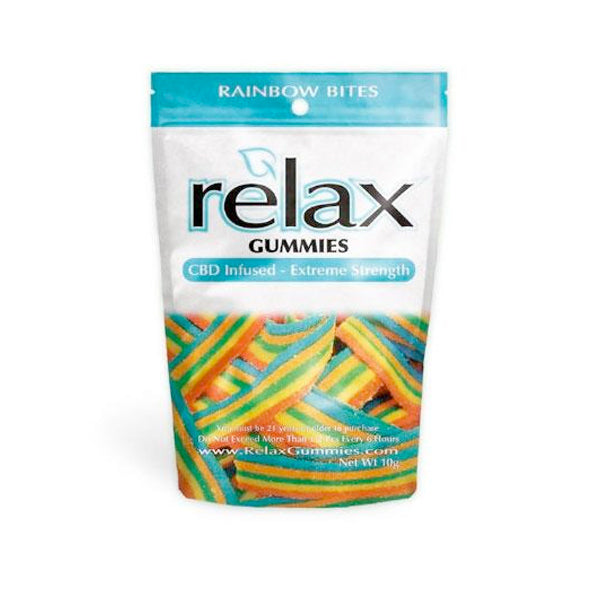 Relax Gummies - CBD Infused Rainbow Bites [Edible Candy] 200MG