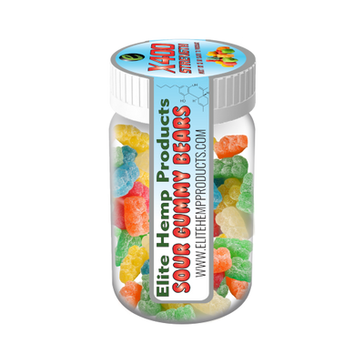 Elite CBD Gummies – CBD Infused Gummy Bear x200 Strength (Classic)