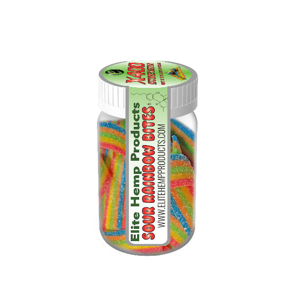 Elite Hemp Products - Sour Rainbow Bites