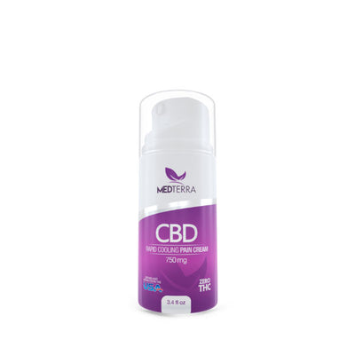 MedTerra Topical Cream - 750mg CBD