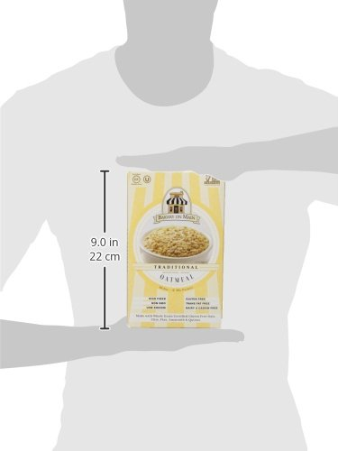 Bakery On Main Gluten-Free, Non-GMO Ancient Grains Instant Oatmeal,  Traditional Unsweetened, 10 5 Ounce/6 Count Box (Pack of 3)