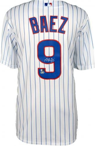 cd03a085e79 Javier Baez Chicago Cubs 2016 MLB World Series Champions Autographed  Majestic White Replica World Series Jersey - Fanatics Authentic Certified