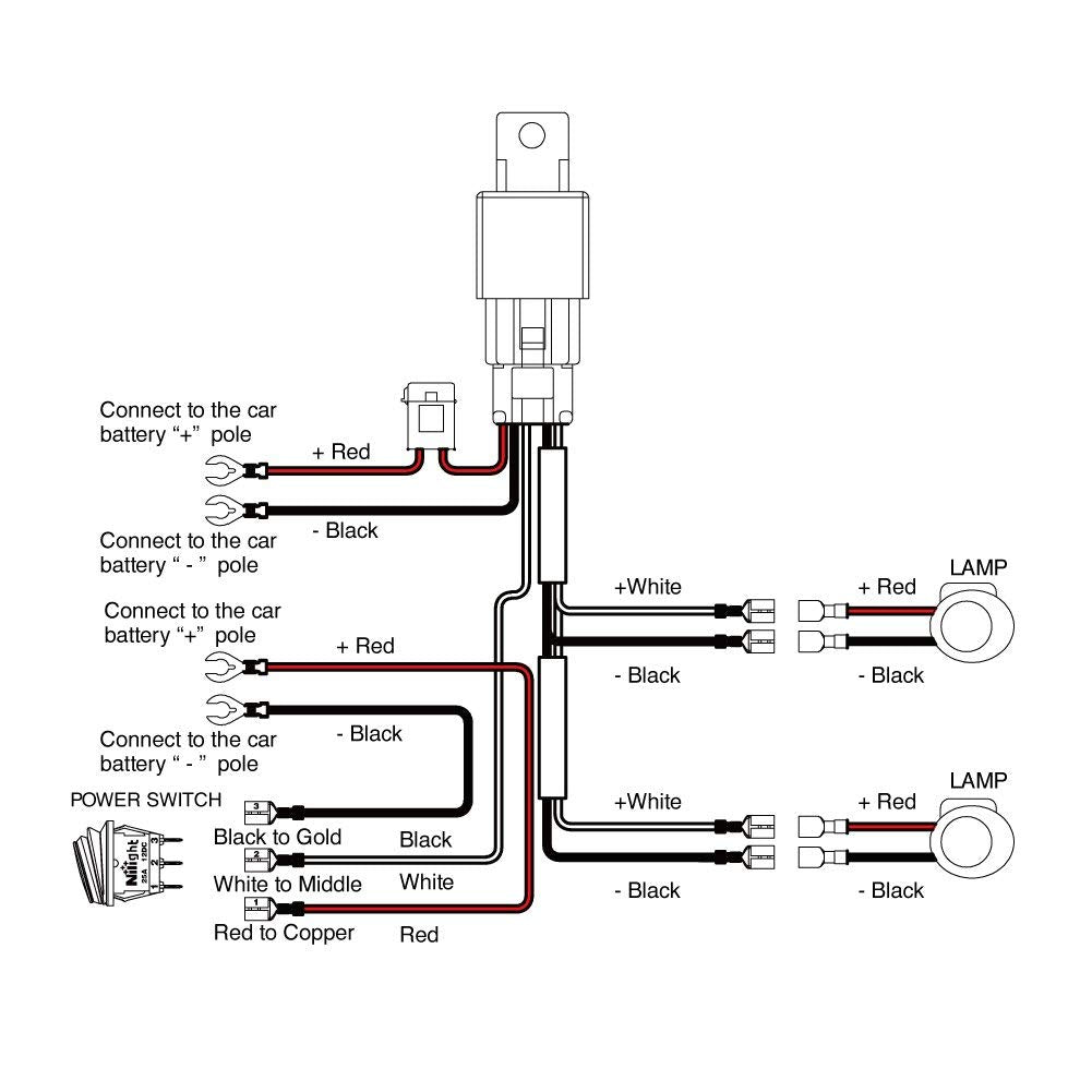 Led Wiring Diagram With Relay