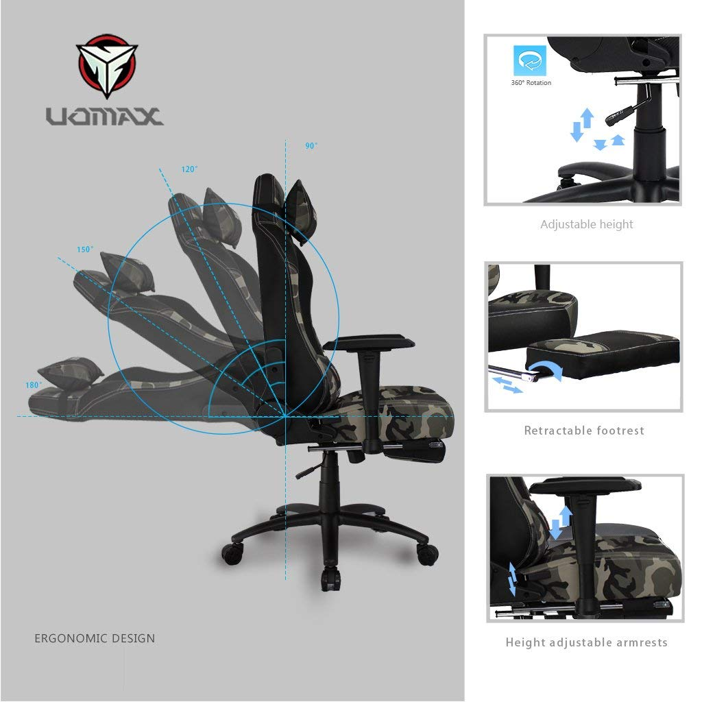 Excellent Uomax Gaming Chair Racing Style High Back Executive Office Ncnpc Chair Design For Home Ncnpcorg