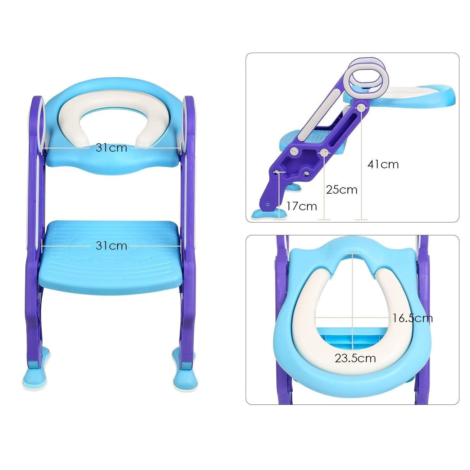 Magnificent Potty Toilet Trainer Seat With Step Stool Ladder Adjustable Theyellowbook Wood Chair Design Ideas Theyellowbookinfo