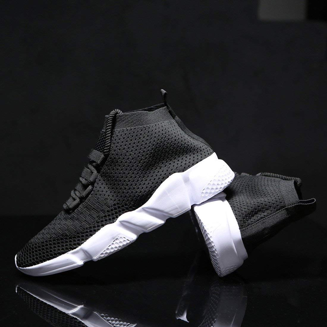 3700477227a21 Mevlzz Mens Casual Athletic Sneakers Knit Running Shoes Tennis Shoe for Men  Walking Baseball Jogging