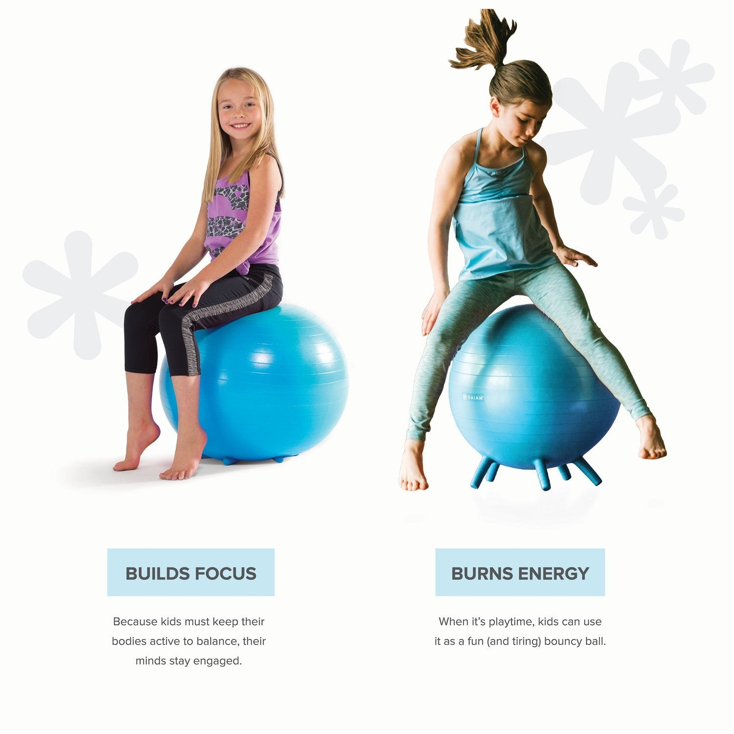 Phenomenal Gaiam Kids Stay N Play Childrens Inflatable Balance Ball Caraccident5 Cool Chair Designs And Ideas Caraccident5Info