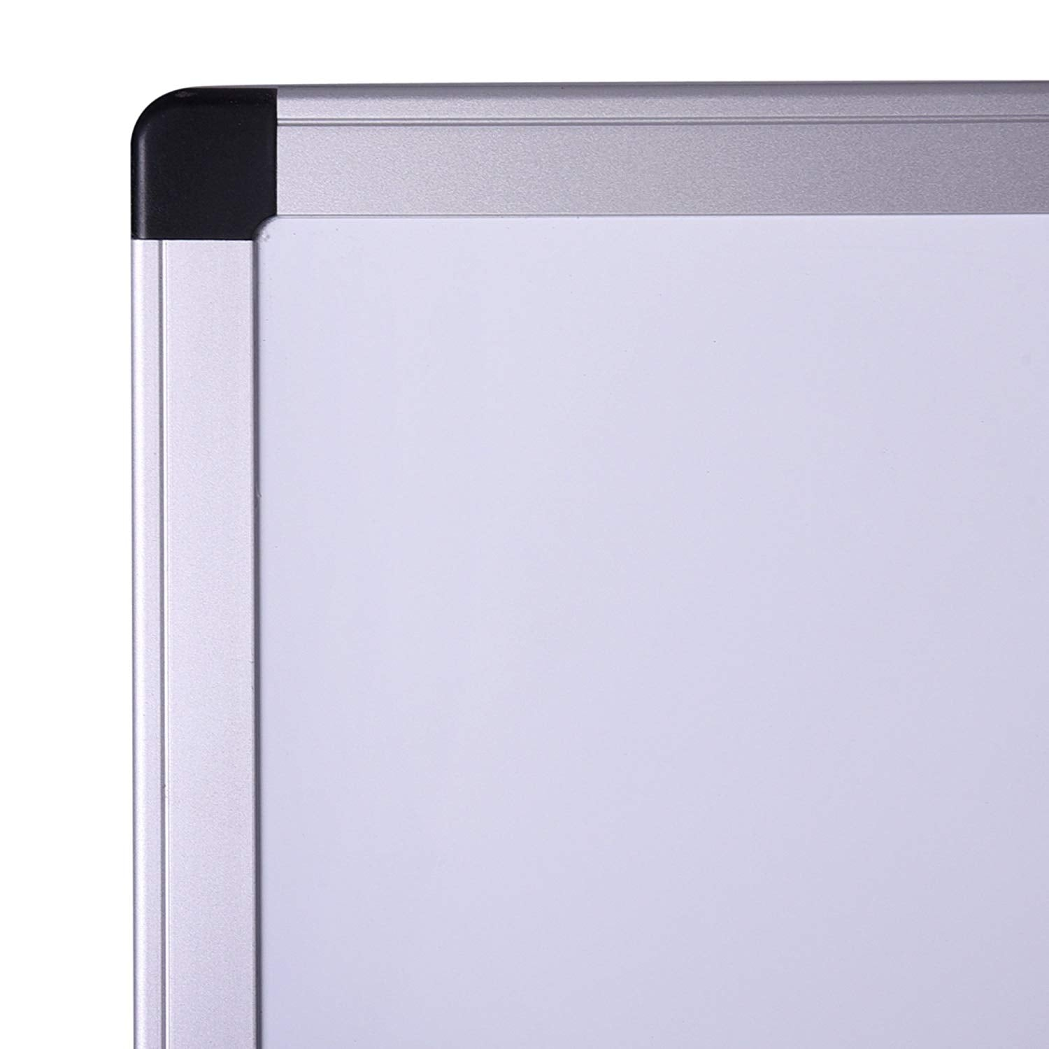 48 X 36 Inch Double Sided Magnetic Mobile Dry Erase Board Easel Rolling Office Whiteboard Presentation Writing Board On Aluminum Stand And Wheels For
