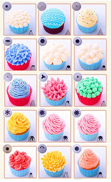 Painstaking 24 Pcs Cake Decorating Kit Buy One Give One Other Kitchen Tools & Gadgets