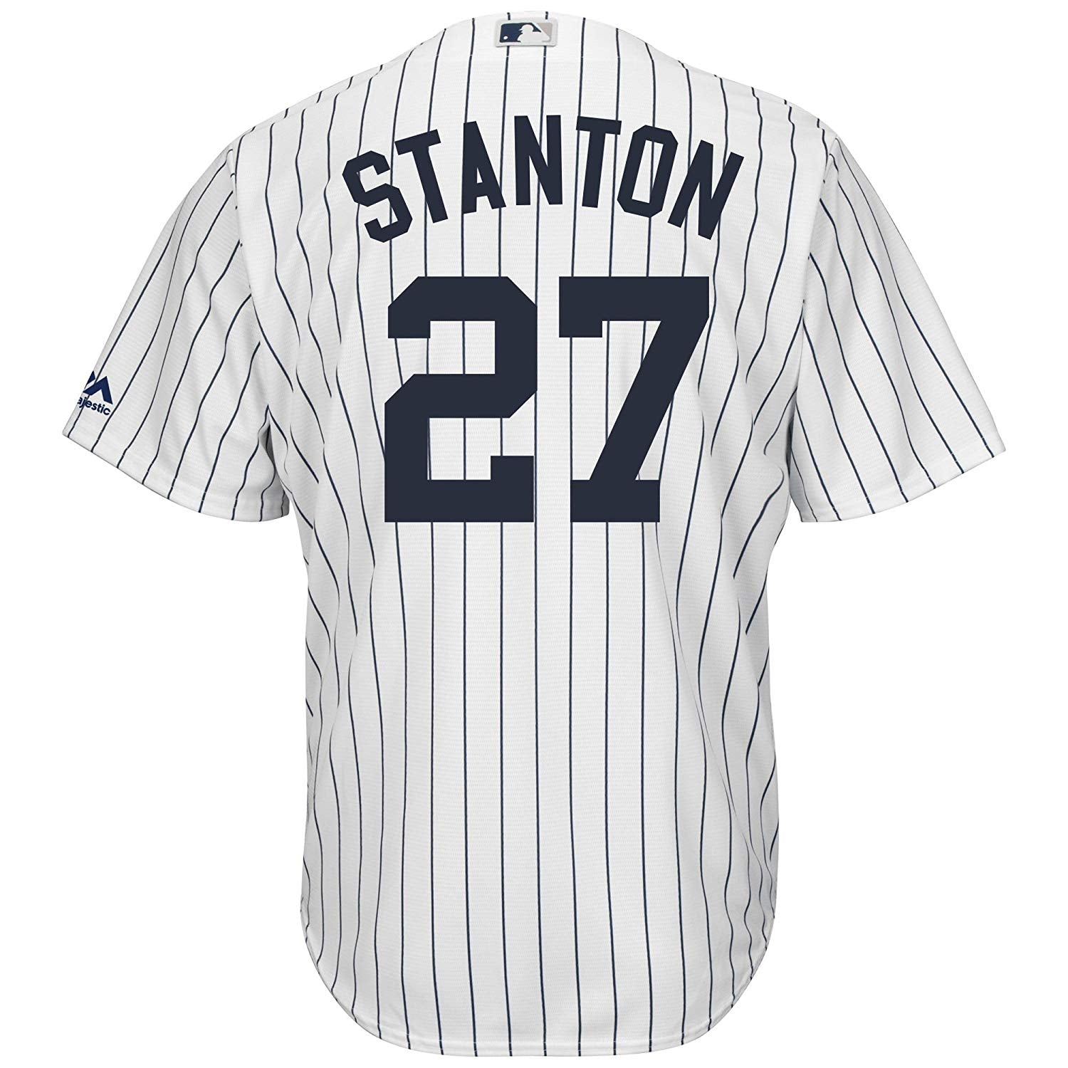c0b1790d91bcc Giancarlo Stanton New York Yankees MLB Majestic Youth White Home Cool Base  Replica Jersey