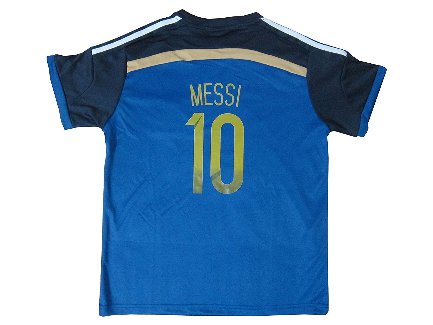 97e37e4e7 KID BOX 2018 Argentina LIONEL MESSI  10 Away Soccer Kids Jersey and Short  Set Youth Sizes