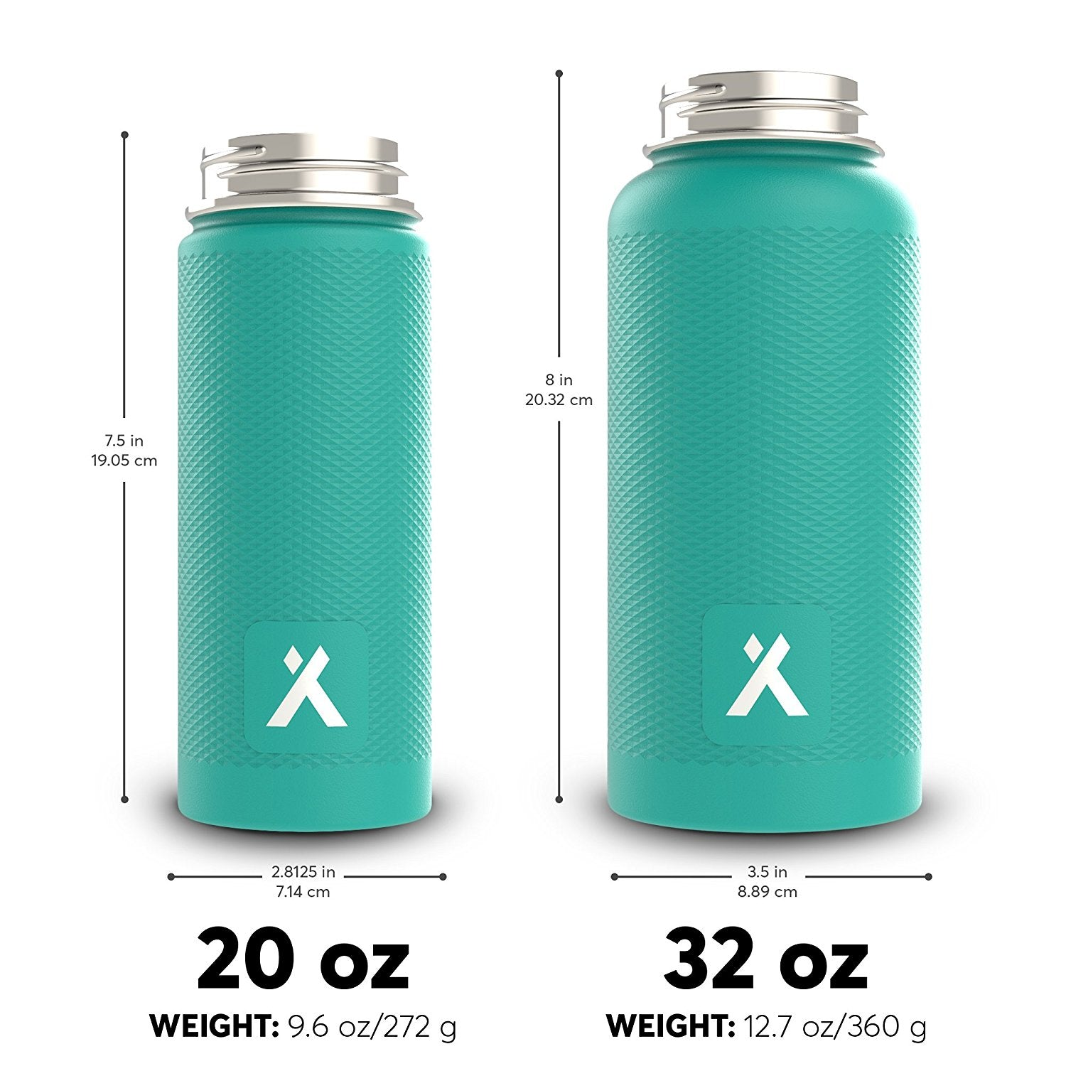5dfaf14e01 Bear Grylls Triple Wall Vacuum Insulated Water Bottle for 12 Hours Hot | 24  Hours Cold, BPA Free