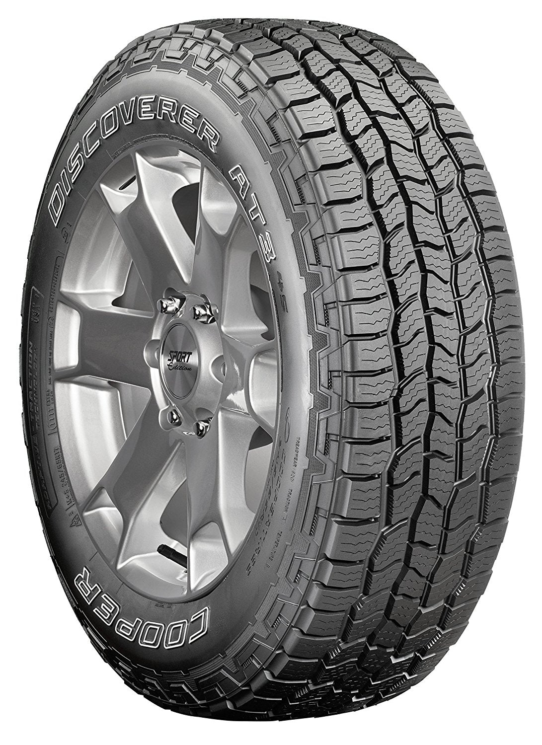 265 70r17 All Terrain Tires >> Cooper Discoverer A T3 4s All Terrain Radial Tire 265 70r17 115t Vazlo