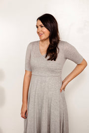 Colbert Knit Wrap Dress