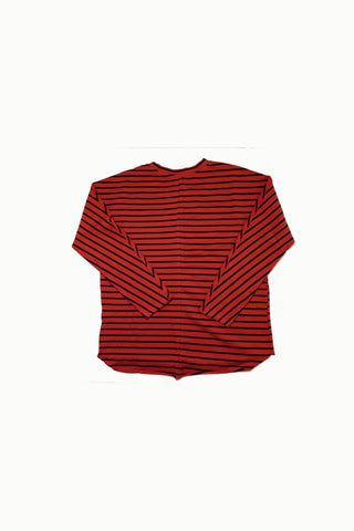 Vintage Striped French Terry Pullover