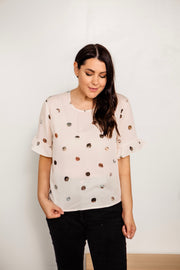 Pebble Print Blouse