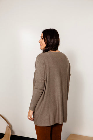 Oversized Two Pocket Sweater