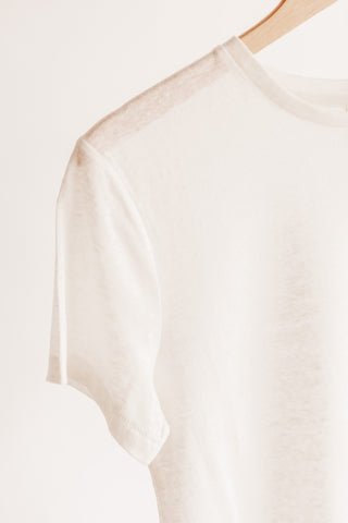 Perfect Fit Linen Tee