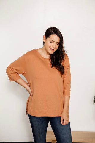 Relaxed Crew Neck Pullover