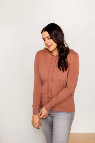 Desert Rose Hooded Sweater