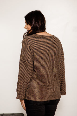 Cuff Sleeve Pullover