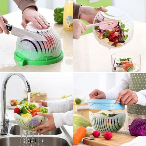 Inexpensive Salad Cutter Bowl