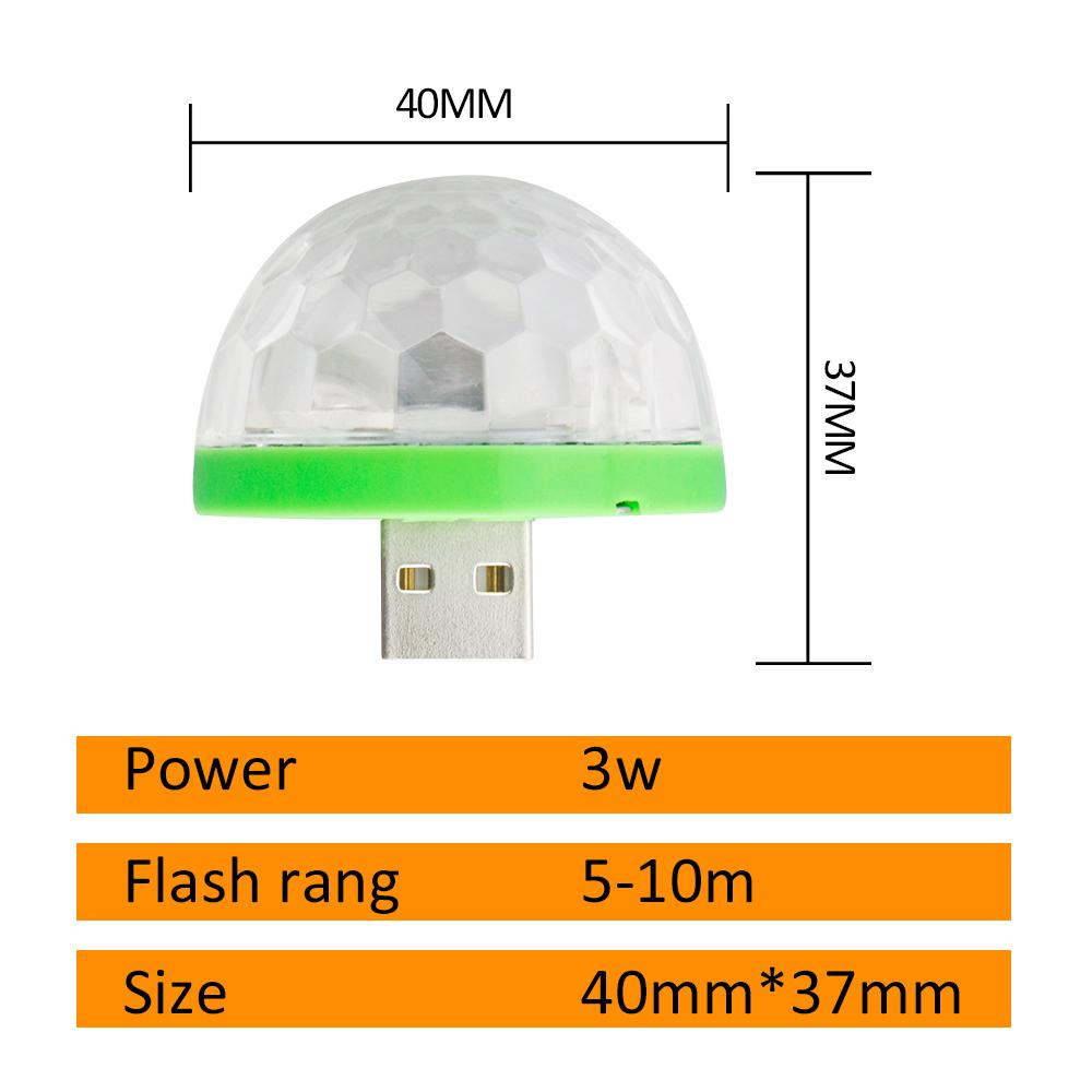 USB Mini Mushroom LED Light