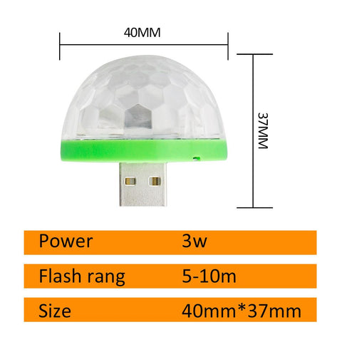 Image of USB Mini Mushroom LED Light