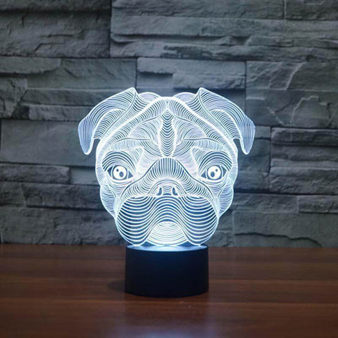 Image of 3d pug light