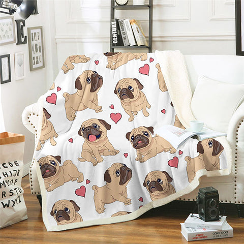 Image of Pug Blanket