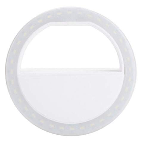 """Perfect Selfie"" Portable LED Ring Light"