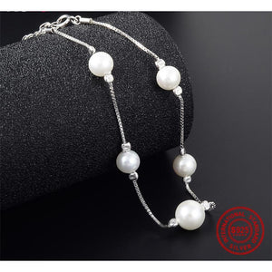 Cathy Pearl 925 Sterling Silver - Jyassy Collection