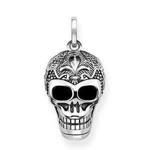 Lily Skull 925 Sterling Silver - Jyassy Collection