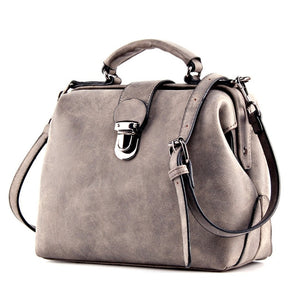 Isabel Leather Hand-Shoulder Bag - Jyassy Collection