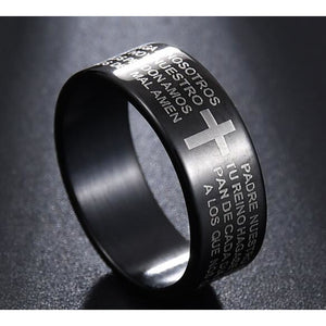 Jesus Titanium Ring - Jyassy Collection
