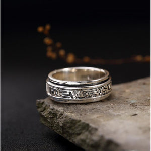 Buddhist Six-Character 925 Sterling Silver - Jyassy Collection